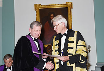 Honorary Fellow of the Royal College of Physicians of Ireland (FRCPI): 2015